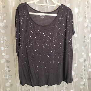 Apt 9 Knit Blouse - lots of bling!!